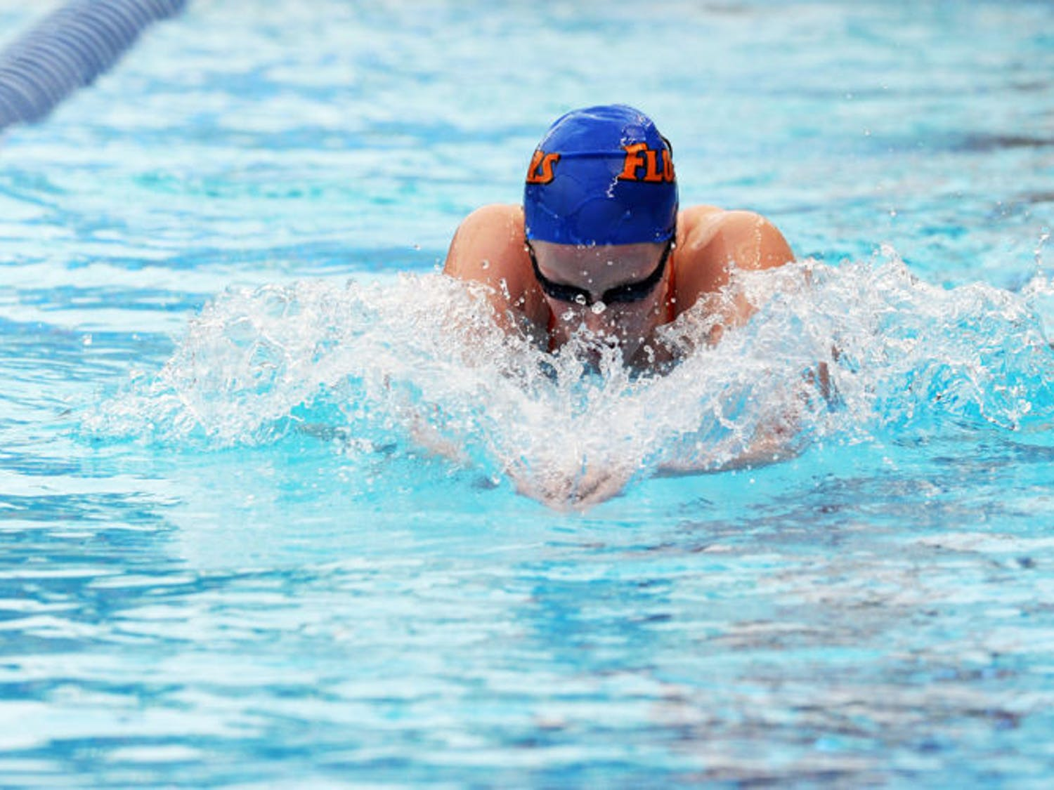Hilda Luthersdottir (pictured) held the school record for the 200 breast until freshman Vanessa Pearl topped it on Saturday.
