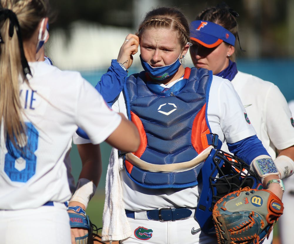 The No. 5 Gators took their first defeat in a road game against No. 16 FSU 7-2. Photo from UF-FSU game March 3.