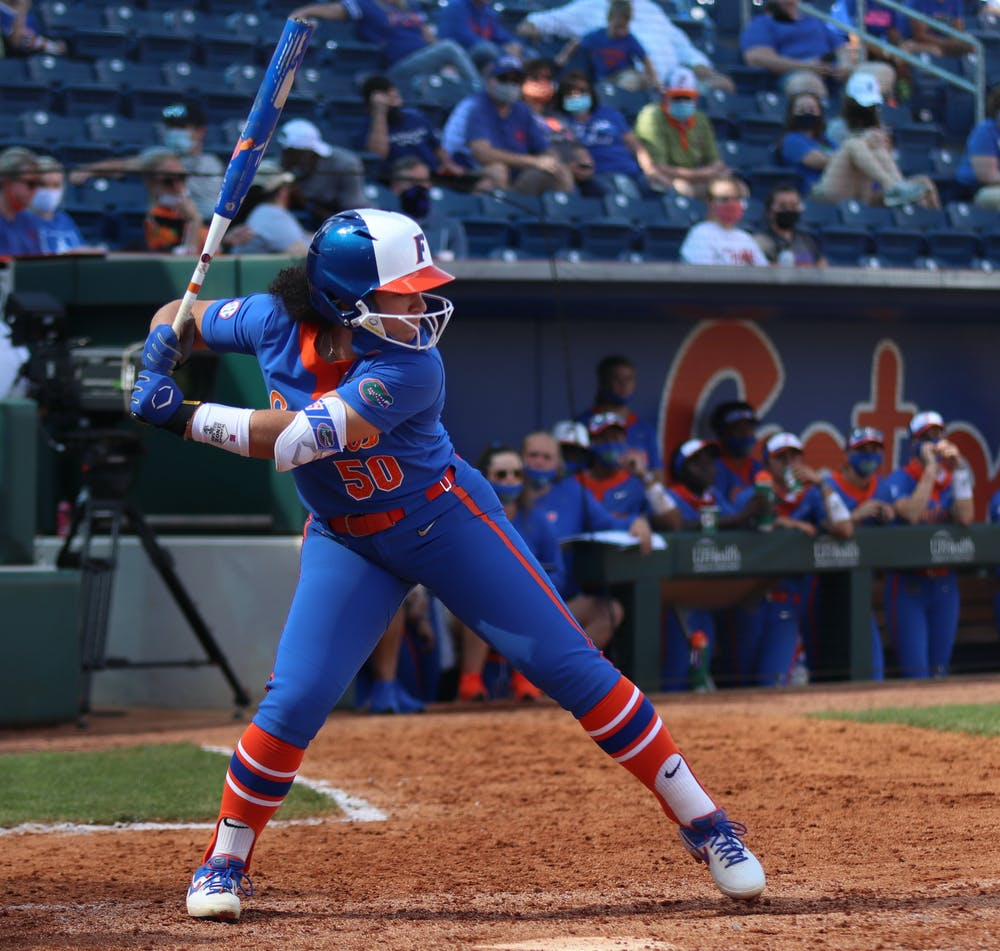 Florida's 5-2 win over FSU marked its last game before the cancellation of the 2020 season due to the ongoing COVID-19 pandemic.  Photo from UF-Louisville game Feb. 27.