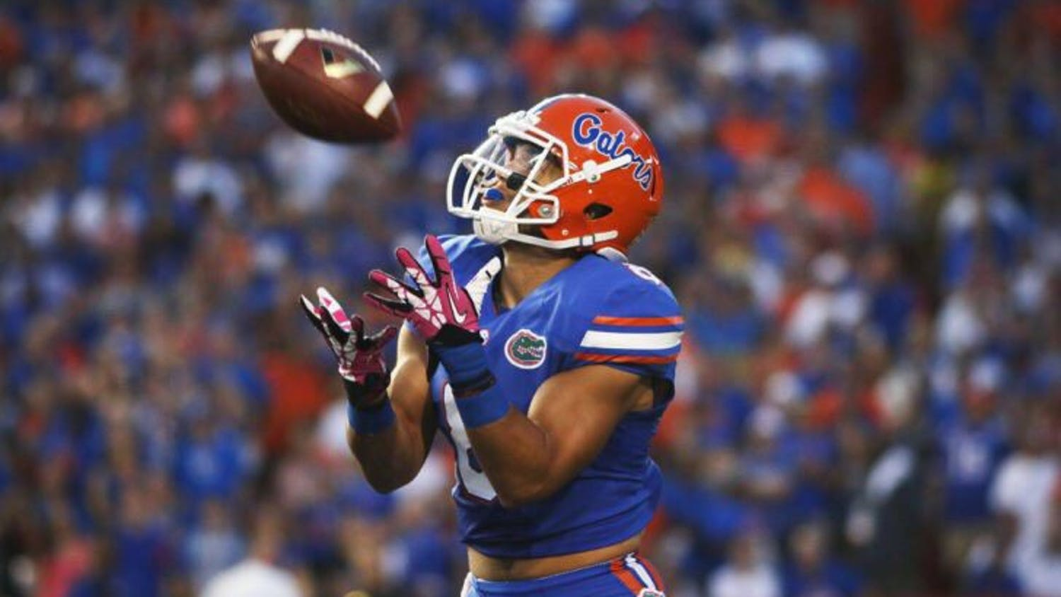 Trey Burton played in every game of the season, racking up 54 receptions for 569 yards and six touchdowns.