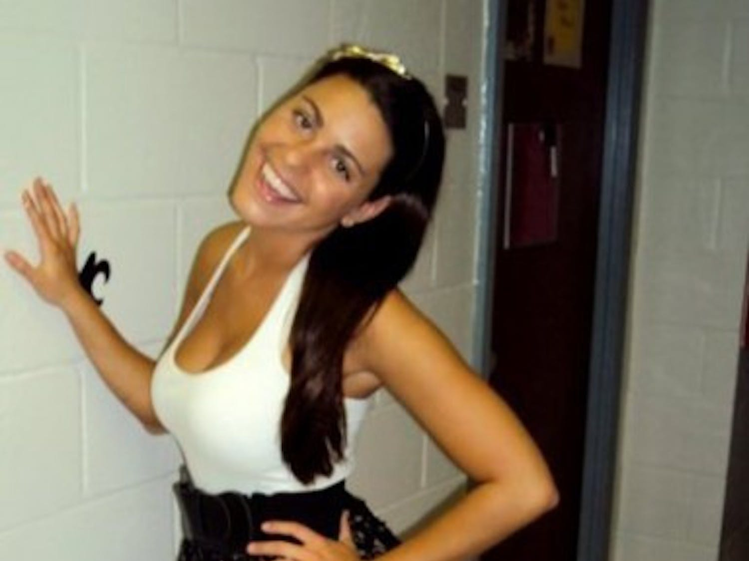 Jade Guzzo, a 20-year-old architecture junior, died Sunday night when her SUV flipped on Florida's Turnpike.