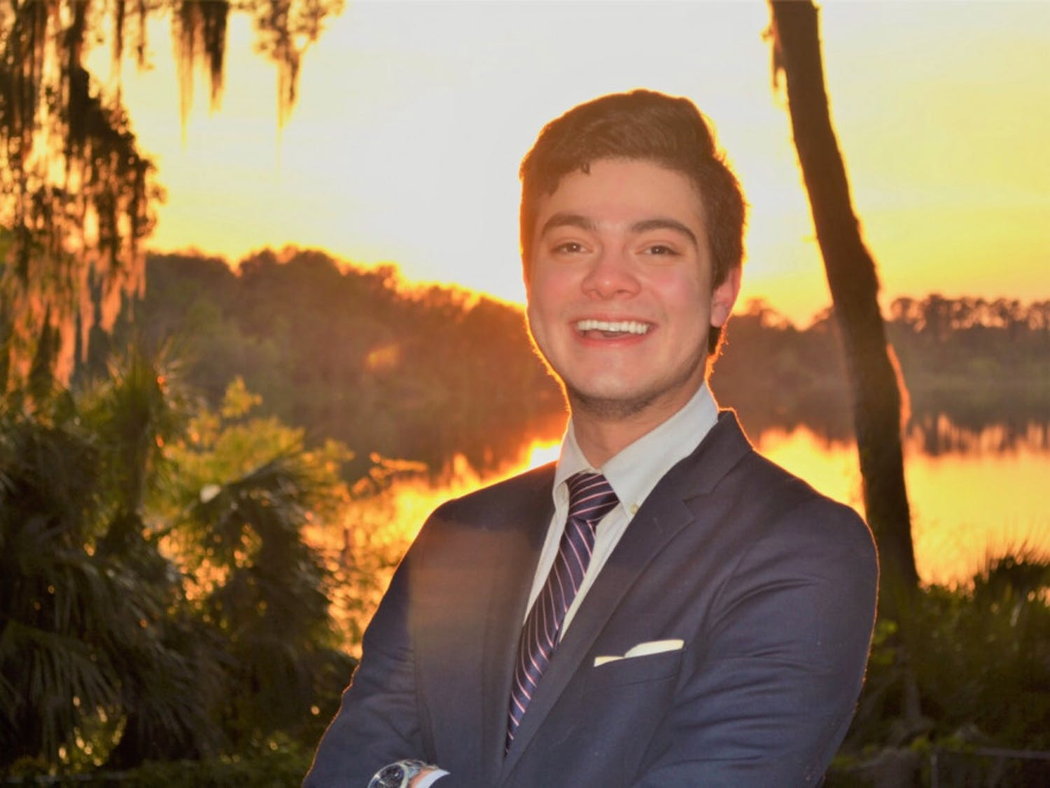 Herman Younger, 23, began a petition to create a restaurant workers union after being frustrated as a server at Bahama Breeze and T.G.I. Fridays. He graduated from UF in Spring 2019 with a degree in political science.