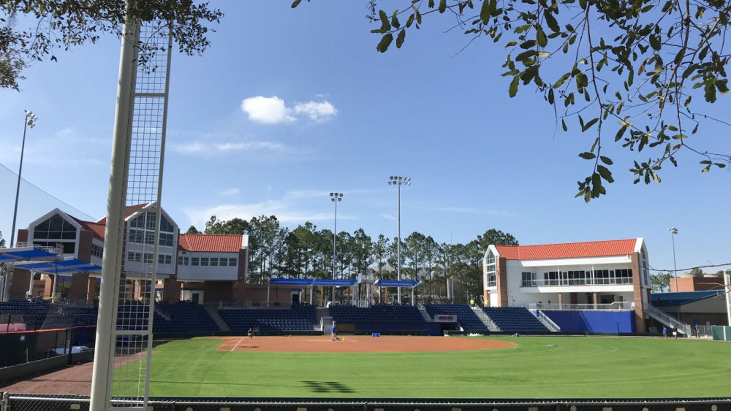 Katie Seashole Pressly Stadium, home of the UF softball team, can welcome 350 additional fans due to changes in the university's physical distance policy.