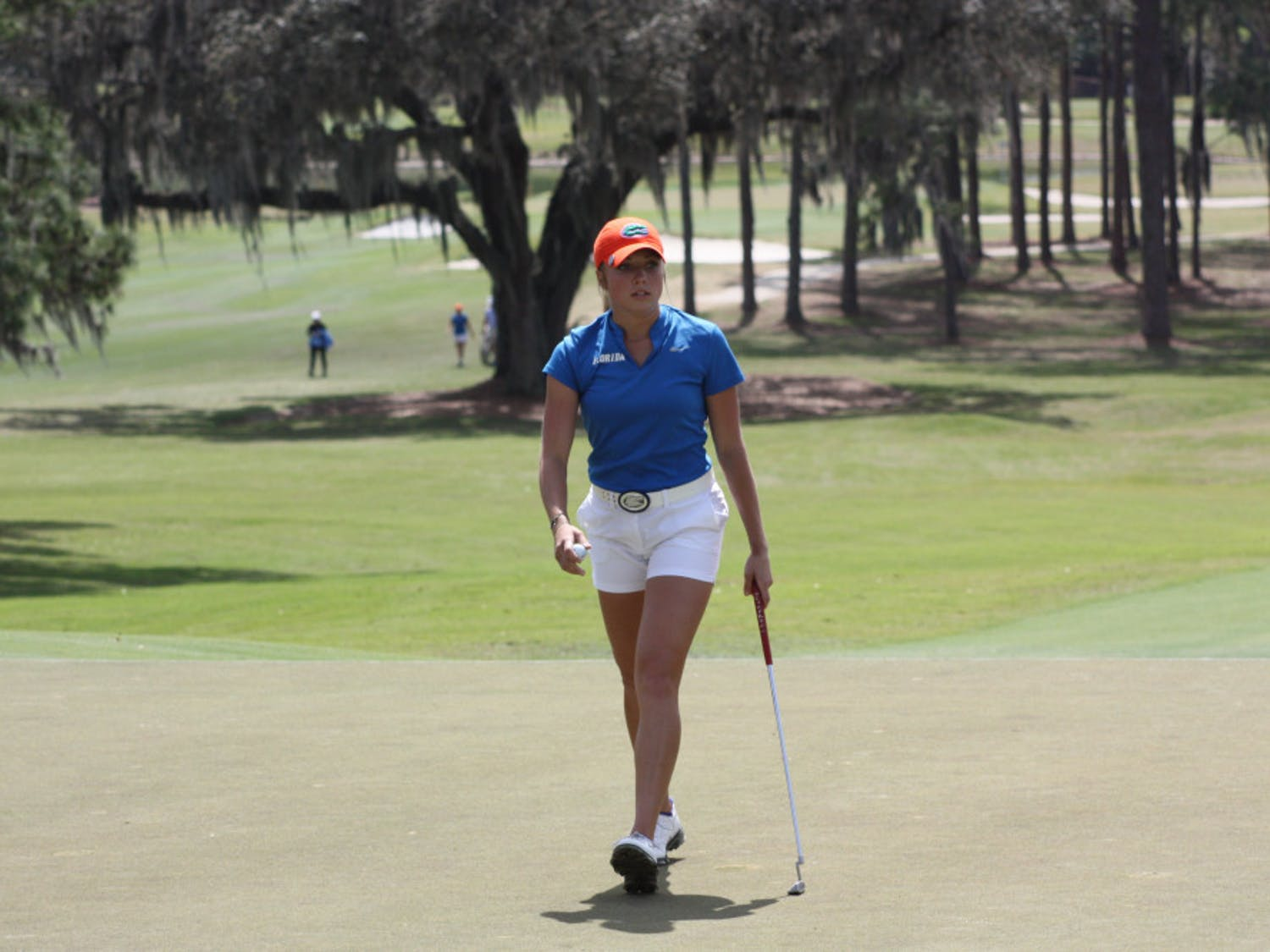 Sierra Brooks is in the outright lead for the NCAA individual title heading into the final day of the NCAA Championships.