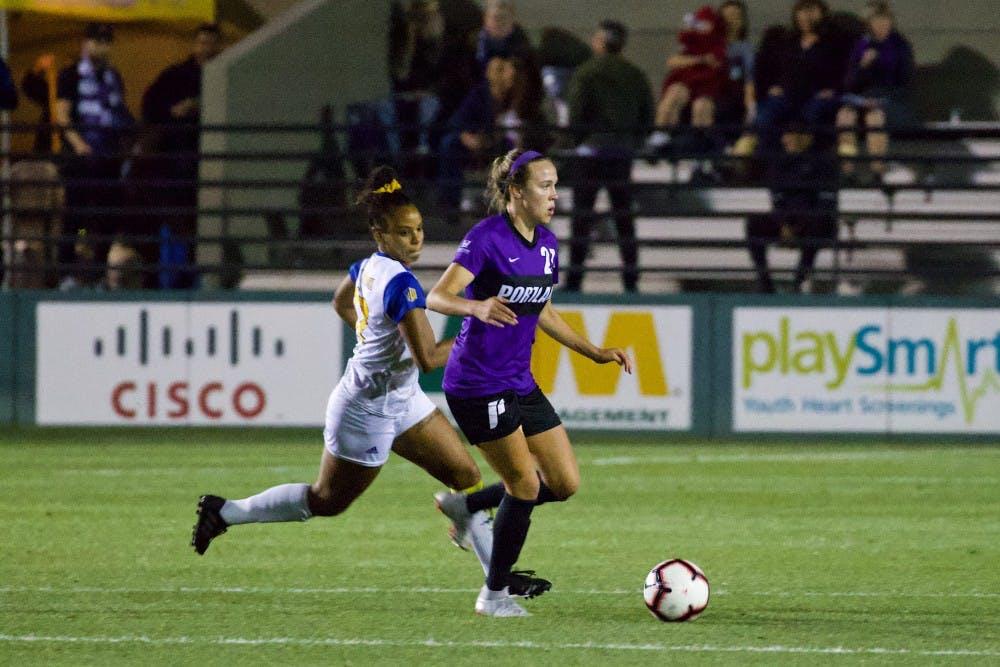 Pilot in the Spotlight: Larkin Russell shines for women's soccer