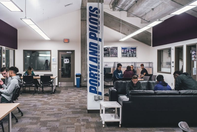 The Pilot Academic Resource Center, also known as the PARC, is a place for student athletes to study.