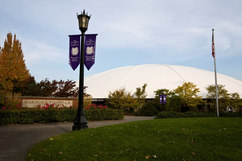 The University of Portland will host the OSAA 6A Basketball State Championships despite growing concerns about the novel coronavirus. Photo courtesy of University of Portland athletics.