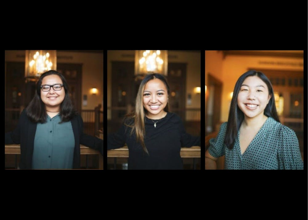 Carolina Cortes, Jayla Fernandez, and Peytynn Kubo are Diversity Collaborators within Diversity and Inclusion Programs. Photos courtesy of Carolina Cortes.