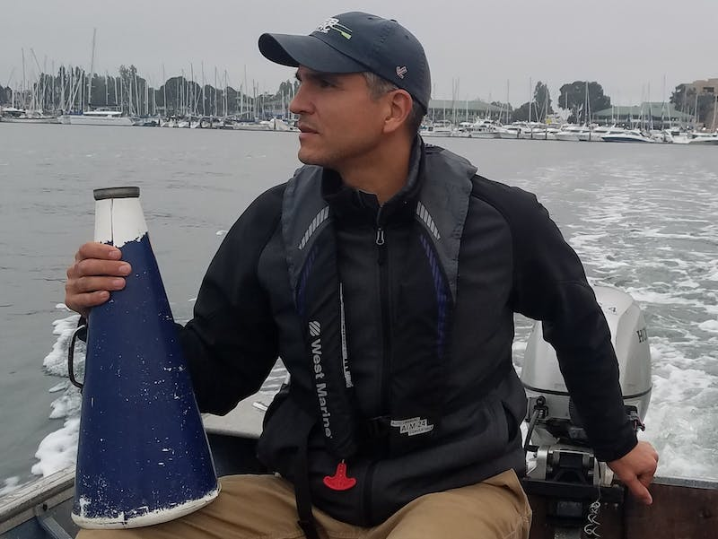 Gulliver Scott was announced as the new head coach for UP's women's rowing program on Tuesday.Media Credit: University of Portland Athletics / The Beacon