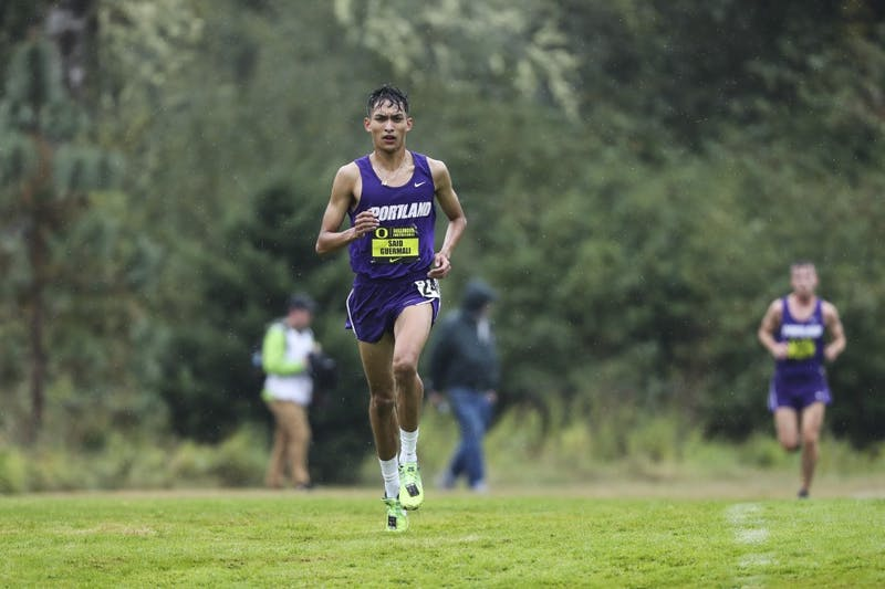 Redshirt Said Guermali finished first amongst all runners in the 6K this past weekend at the Portland State Rust Buster.