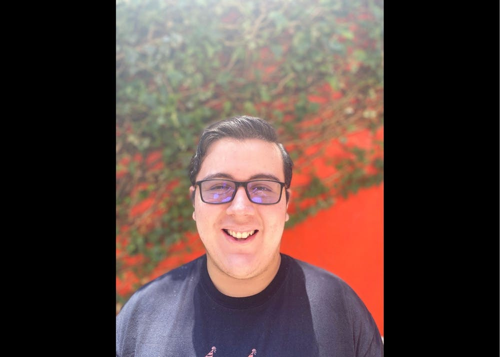 Miguel Giovanni Navarro is a political science and history major. Photo courtesy of Miguel Giovanni Navarro.
