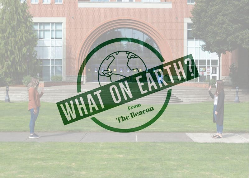 In Episode 2 of What on Earth? Molly and Jennifer discuss all things COVID-19. Photo illustration by Jennifer Ng.