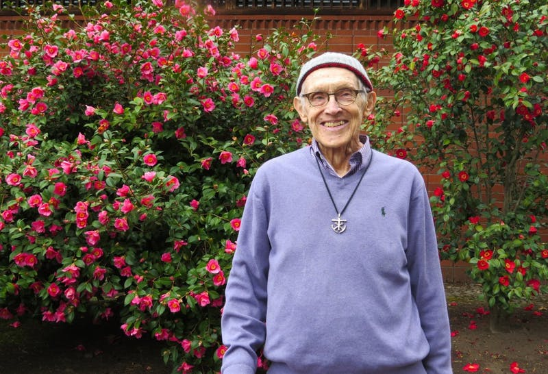 Rev. Claude Pomerleau started teaching at UP in 1991. He has since retired, but still teaches one political science class per year.