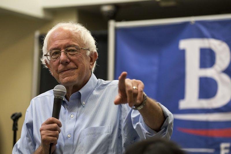 Bernie Sanders turned 77 on Saturday. Photo courtesy of Wikimedia Commons.