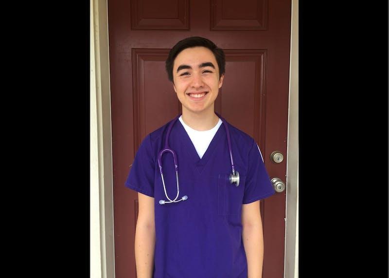 Alex Griesbaum is a senior nursing major. Photo courtesy of Alex Griesbaum.