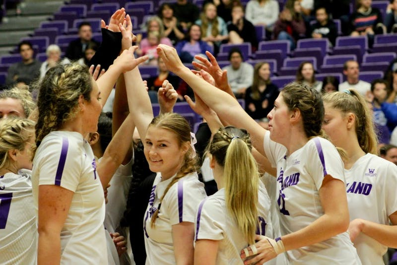 Volleyball loses to No. BYU 3-0