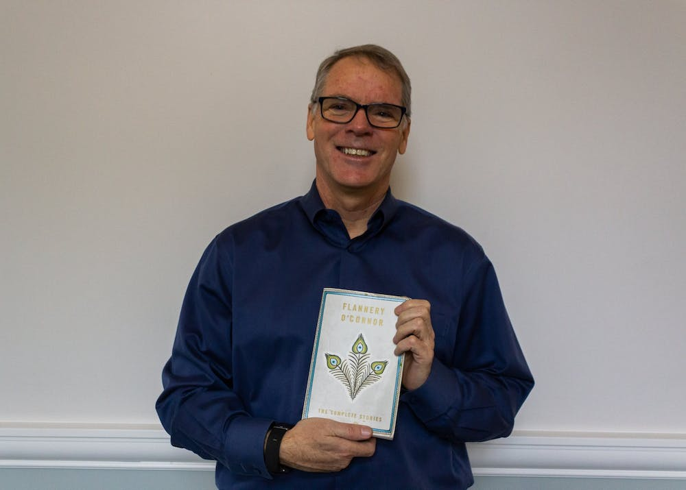 "English professor Fr. Patrick Hannon's favorite book after the Bible is ""The Complete Stories"" by Flannery O'Connor."