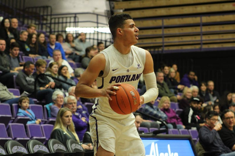 Redshirt junior Malcolm Porter scored 12 points and had six rebounds.