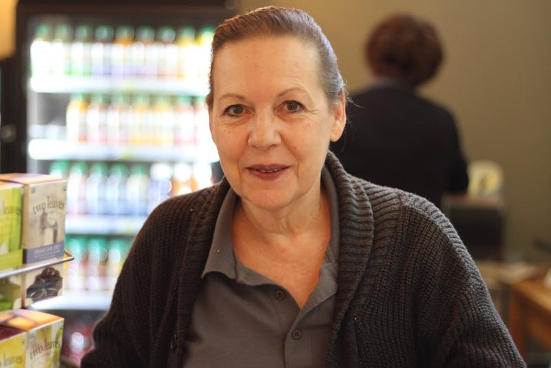 Suzy Clemens has been serving up coffee and bagels to UP students for over a decade.
