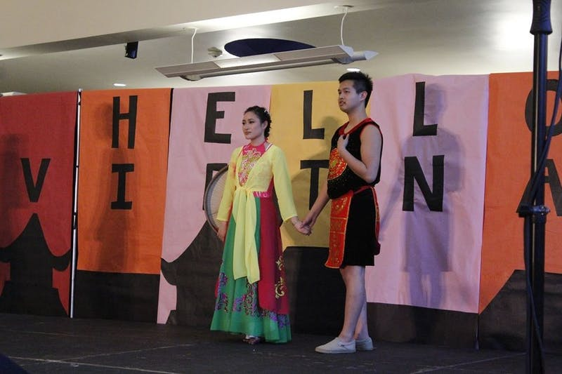The Vietnamese Student Association will host their annual cultural night during Asian-American History Month on April 8, 2018. Photo taken from cultural night in 2017. Photo courtesy of Mai Jones.
