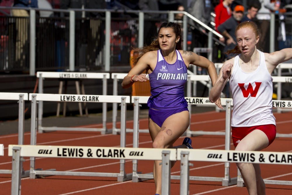 Junior track and field star Maya Murphy-Cook has dominated this outdoor season.