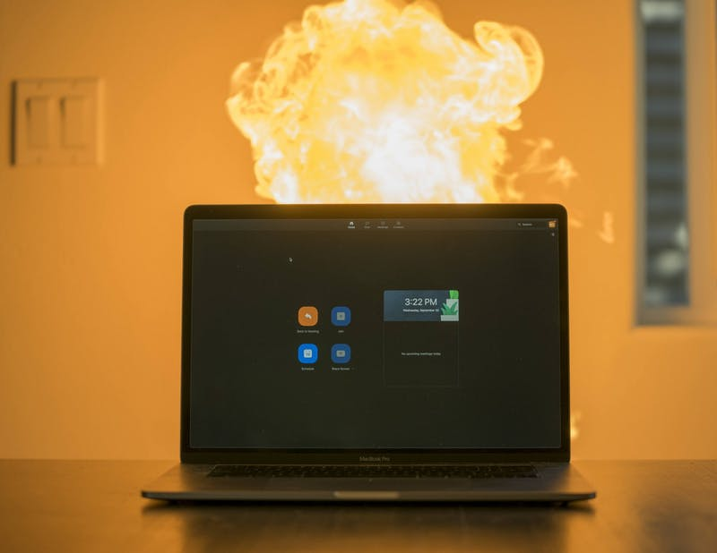 Heat death may be the inevitable end of the universe, but that doesn't mean it has to be the end of your laptop.Photo illustration by Brennan Crowder/ The Beacon