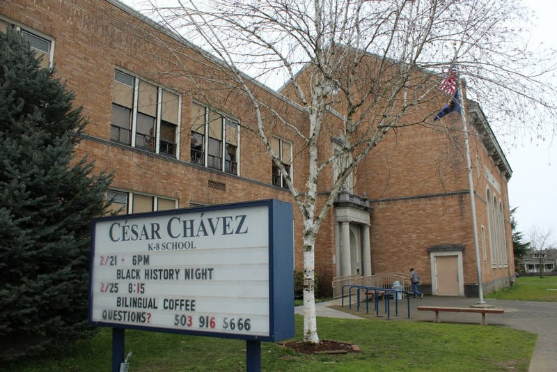 Cesar Chavez is a K-8 school in North Portland.