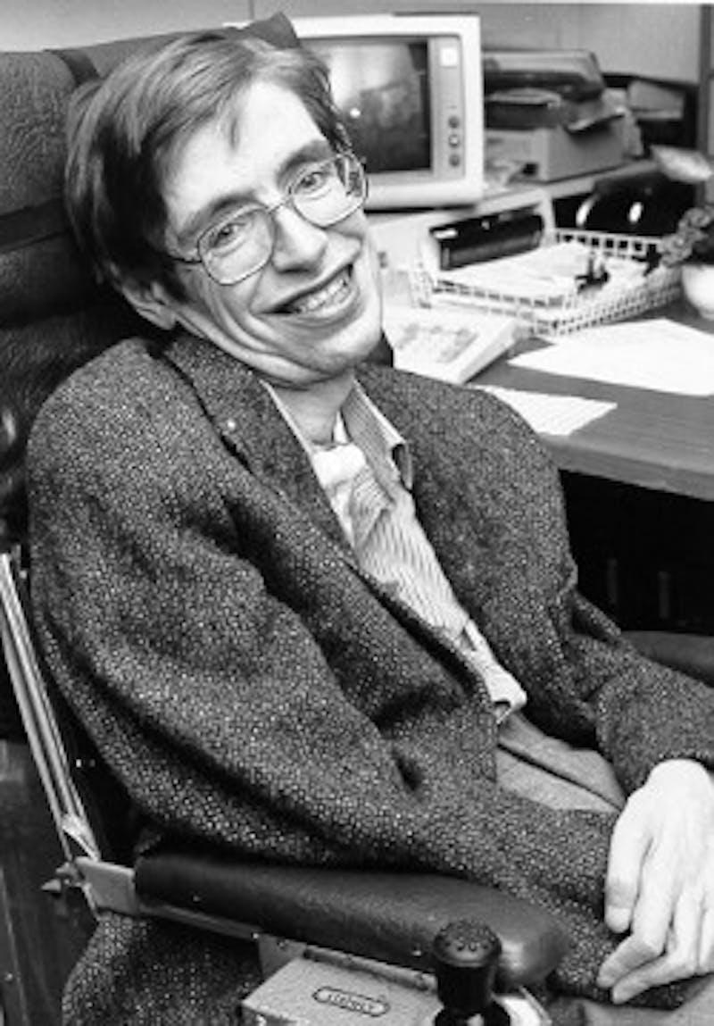 Stephen Hawking. Photo courtesy of NASA StarChild/Wikimedia Commons.
