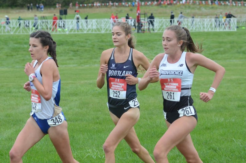 Junior Jasmine Fehr set a personal record in the 1,500-meter at Canadian Nationals this summer.