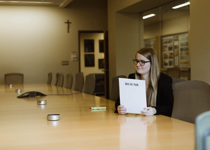 Community engagement editor Natalie Nygren gives us tips for applying for internships and shares advice from the Career Center.