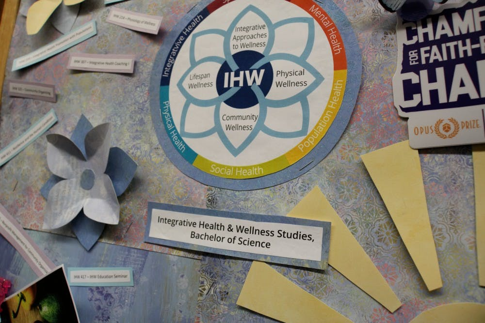 As the name implies, the integrative health and wellness studies major brings together various fields of health, previously isolated as singular fields of study.