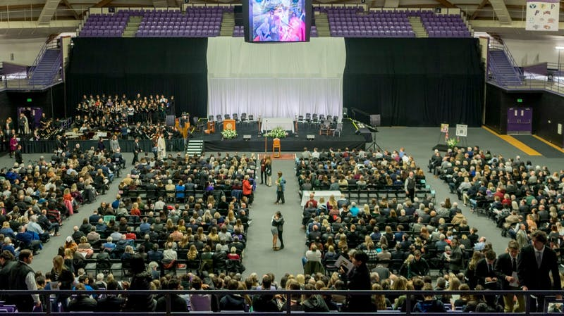 1,832 family, friends, students and community members joined together at the funeral of Owen Klinger.
