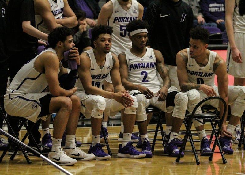 Men's basketball struggled in the game against Pepperdine.