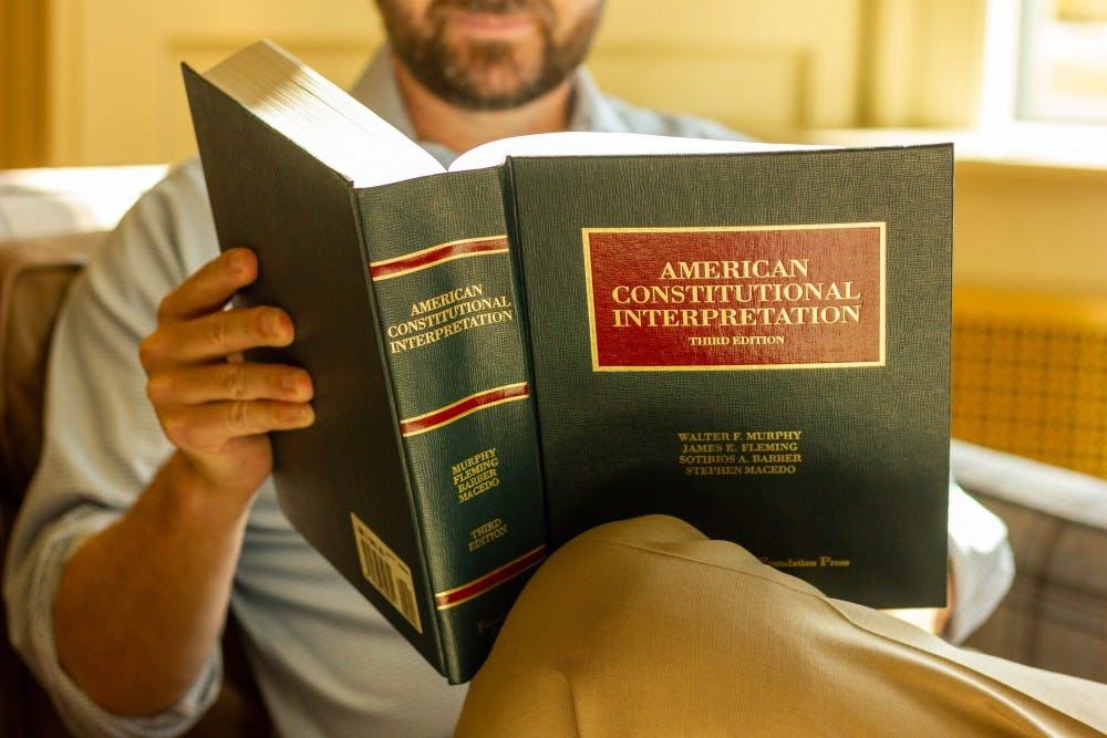 The new constitutional studies minor seeks to introduce students to U.S. law and history. Photo illustration by Paula Ortiz Cazaubon