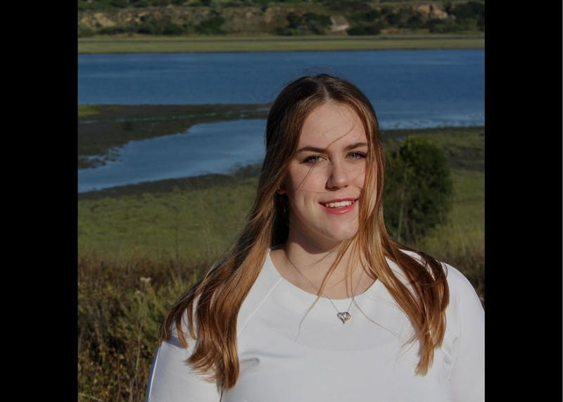 Maja Strusinska-Thayer is a freshman biology student. Photo courtesy of Maja Strusinska-Thayer.