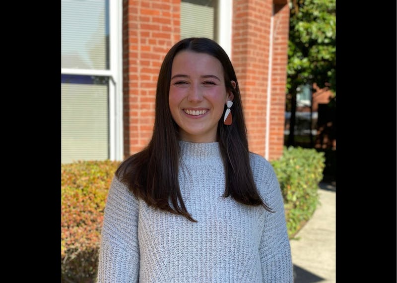 Maggie Loft is a senior secondary education and history major. Photo courtesy of Maggie Loft.