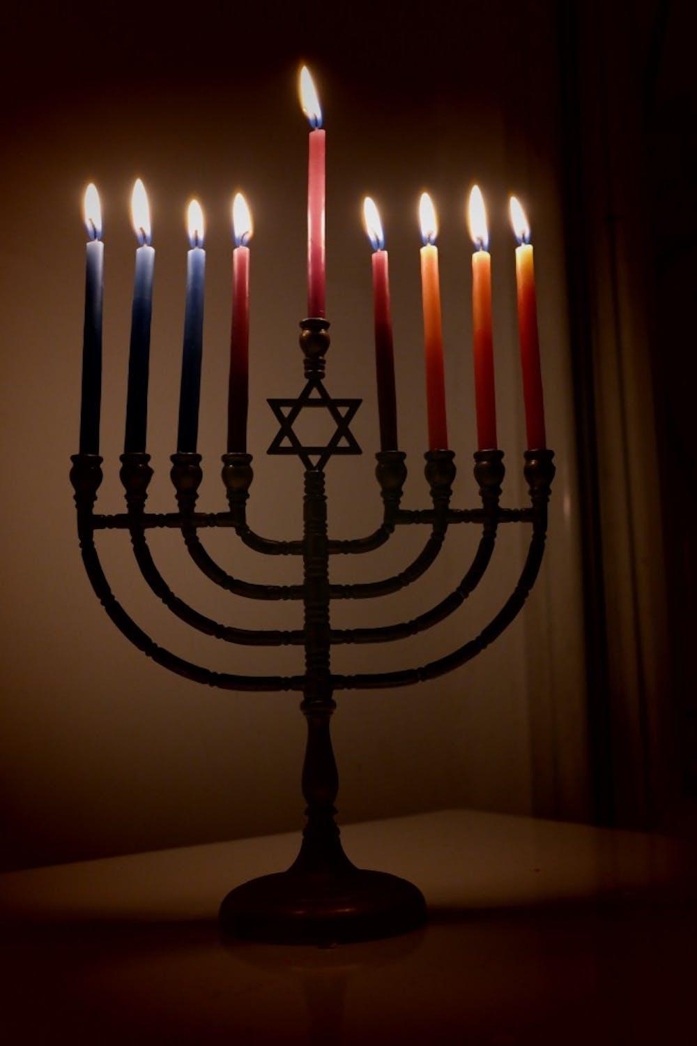 lit-hanukkiyah-eight-and-last-night-of-hanukkah