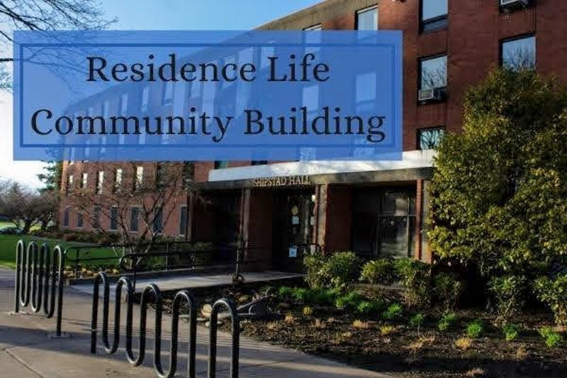 With COVID safety concerns limiting community building activities, residence halls at UP are getting creative with fun dorm events. Canva by Emma Sells.