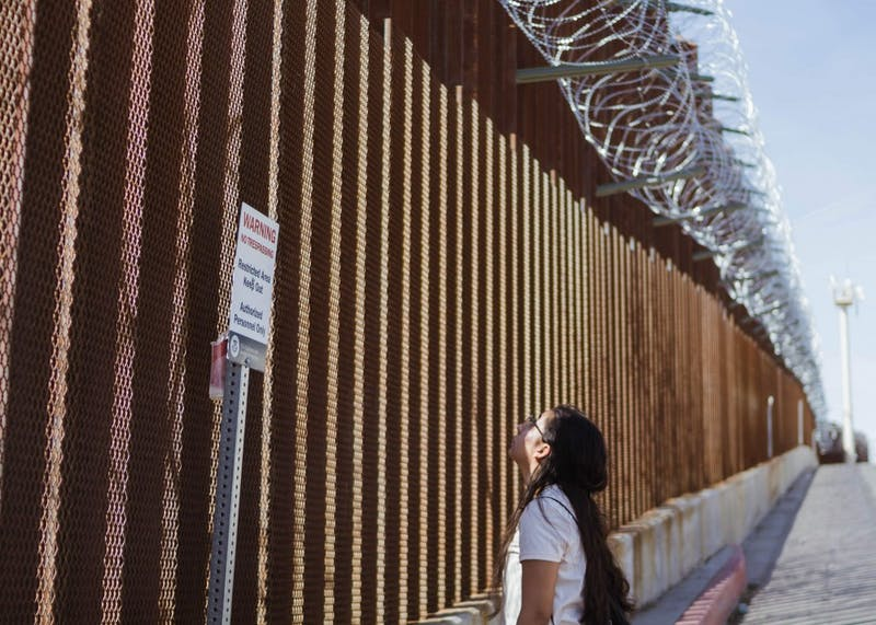 During spring break, eleven students traveled to the southwestern Mexican border wall to learn about immigration through lectures and learning-based activities.