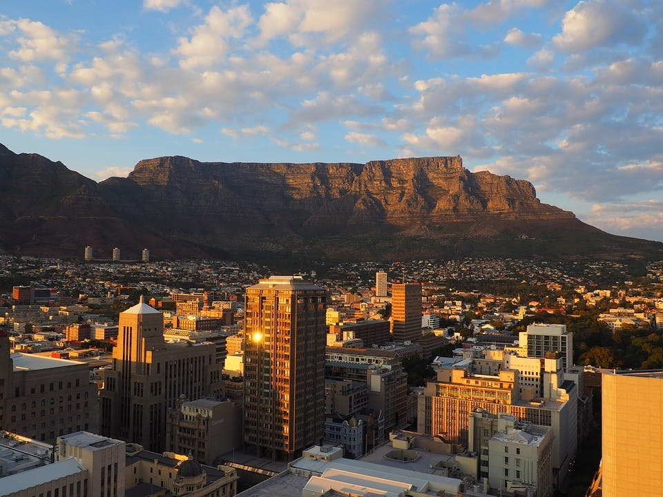 In 2019 University of Portland students will have the opportunity to go on a new study abroad experience to South Africa. This photo of Cape Town, South Africa is courtesy of Creative Commons.