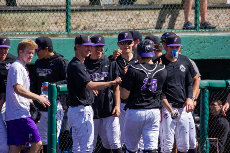 The Portland Pilots avoided the sweep today with a 5-3 victory over the LMU Lions.