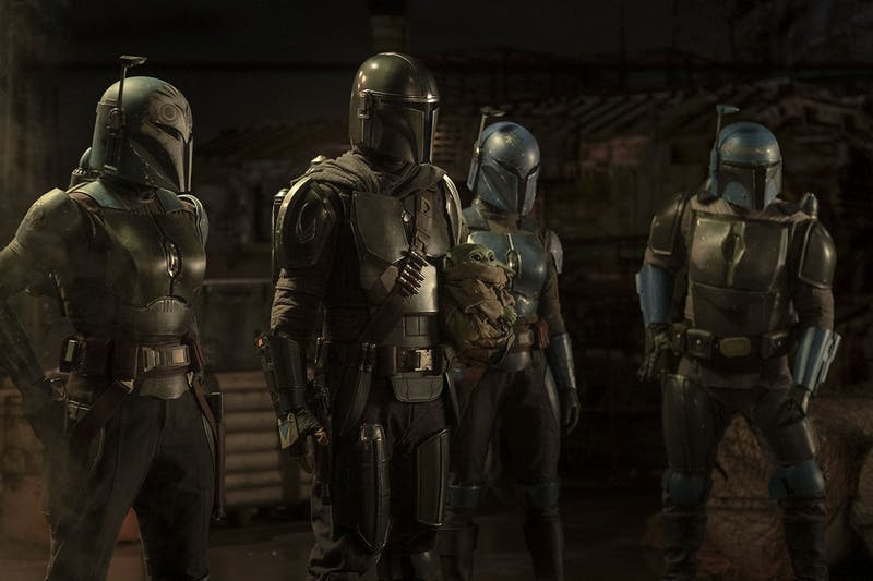 """In """"The Heiress"""", Mando finally encounters some real Mandalorians who give him some startling information. Photo: Star Wars"""