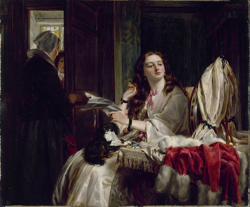 By John Callcott Horsley (1917-1903). Photo Courtesy of Wikimedia Commons.