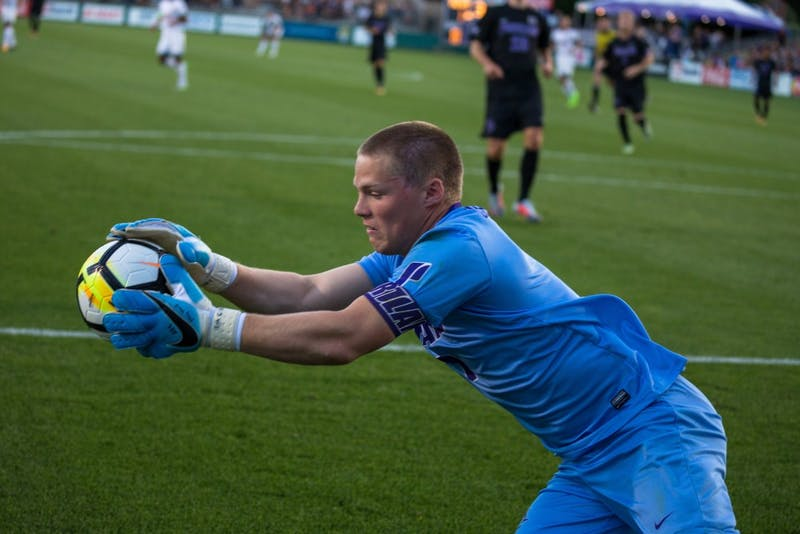 Paul Christensen was drafted with the first pick in the fourth round of the MLS SuperDraft by Atlanta United.