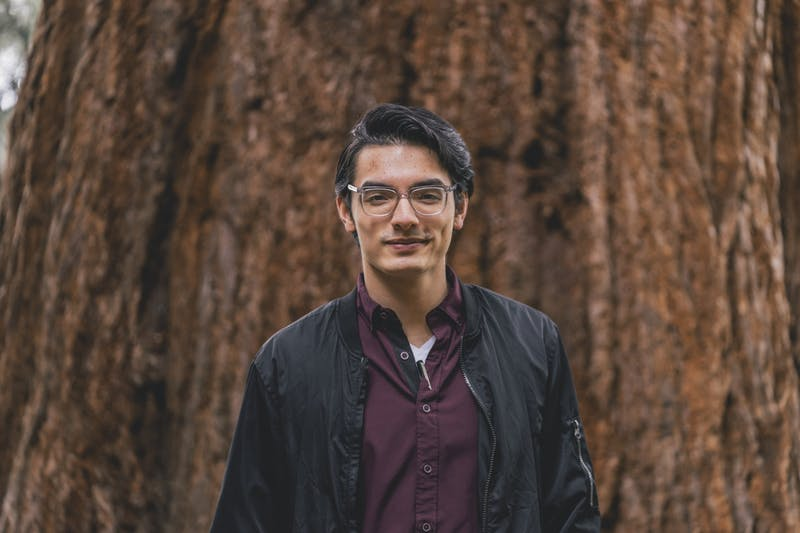 Austin De Dios, editor-in-chief for 2021-22.Media Credit:Brennan Crowder/ The Beacon