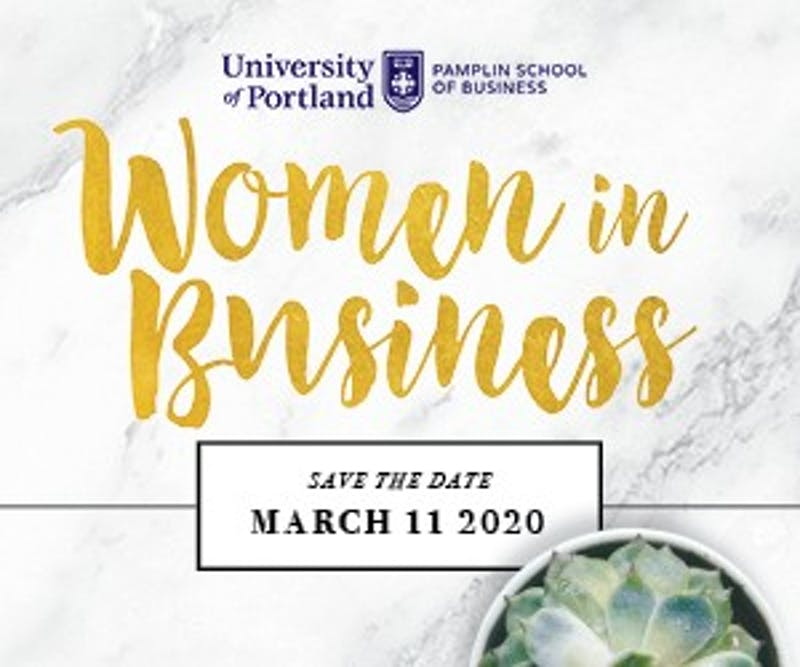 The Women in Business Showcase aims to inspire and motivate business women while also providing a networking opportunity. Photo courtesy of Pamplin School of Business.
