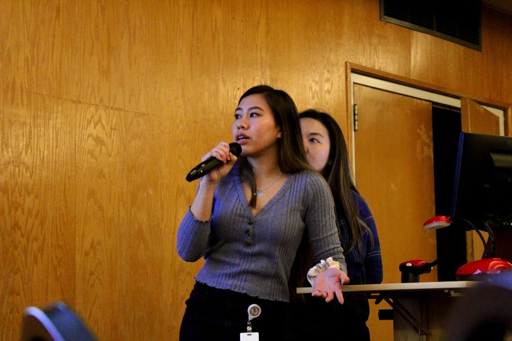 University of Portland's Vietnamese Student Association leads a Diversity Dialogues event on cultural appropriation.