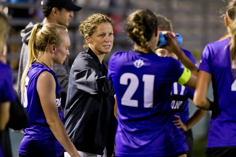 Michelle French enters her second year as head coach of the Pilots.