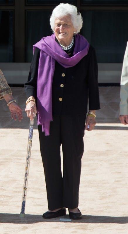 Barbara Bush. Photo from Wikimedia Commons.