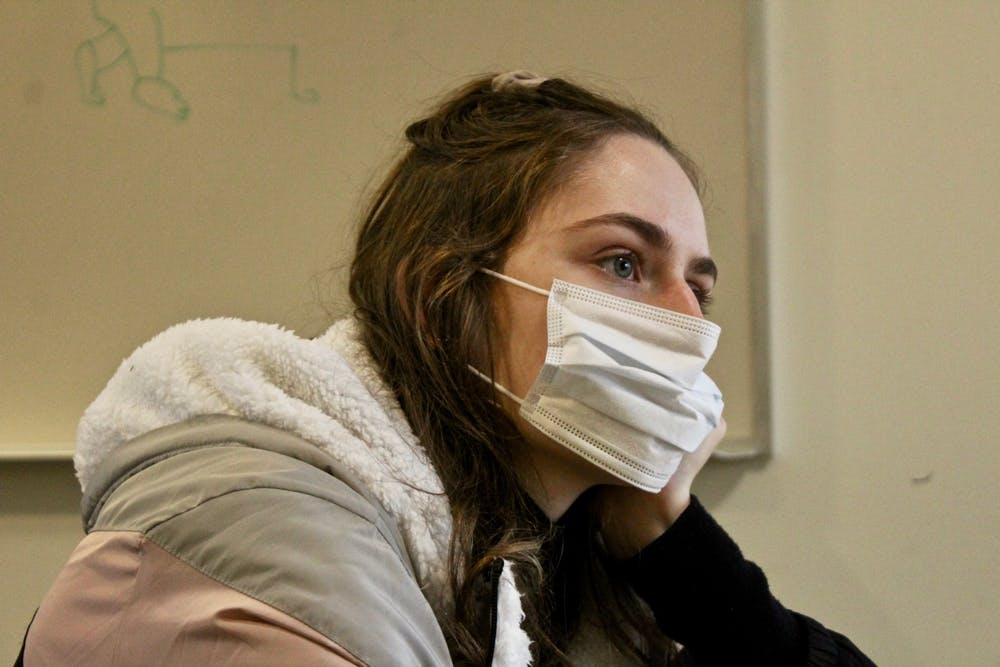 According to the Health Center, cold and flu season should be a bigger concern for UP students than the Coronavirus. Photo illustration by Lisa Erenstein.